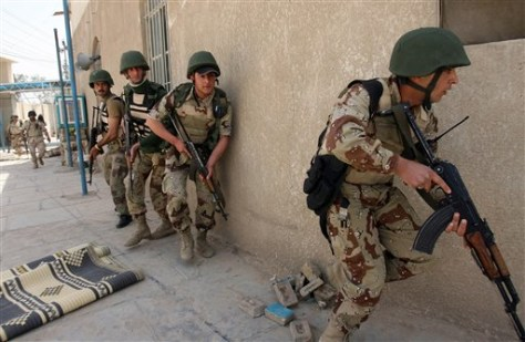 IMAGE: Iraqi trops