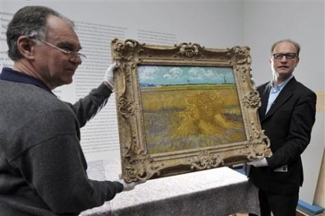 "Image: Van Gogh's ""Wheat Field"""