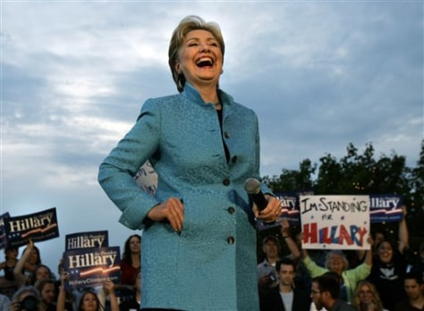 IMAGE: Sen. Hillary Rodham Clinton, D-N.Y.