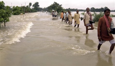 Image: India monsoon flooding