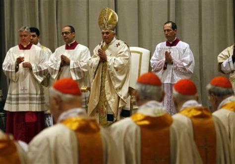 Image: Vatican Easter vigil