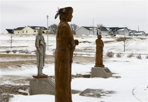 Image: Tribal housing development in Nebraska