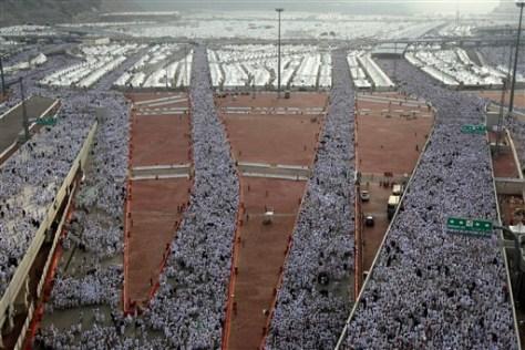 Image: Hajj pilgrims