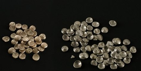 Image: Celtic coins