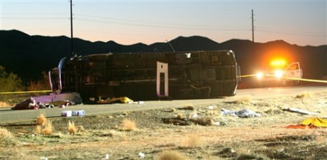 Image: Arizona bus crash