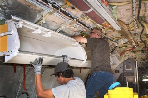 Bulky Suitcase Overhead Bins Getting Bigger Travel