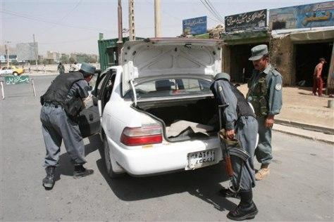 Afghan Explosion