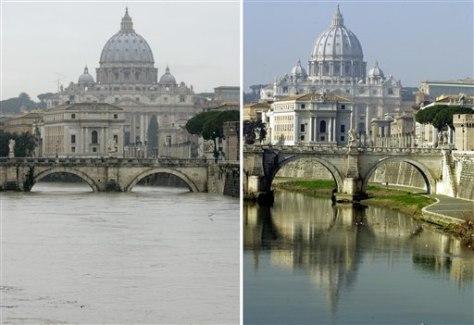 Image: Rising Tiber River