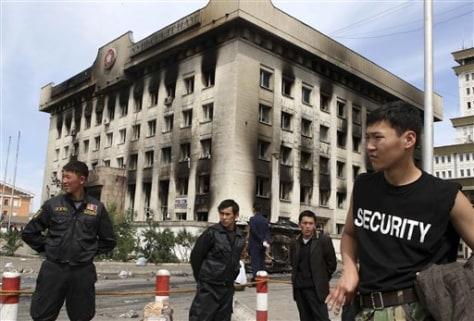 Image: Mongolian unrest