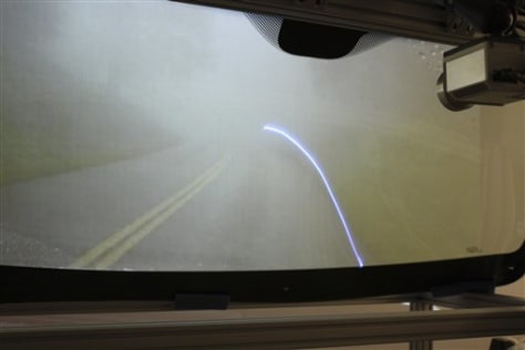 Image: Windshield test