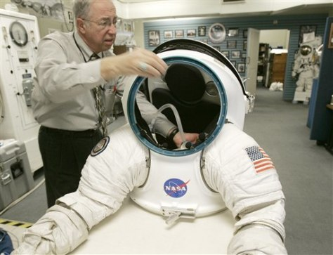 Image: New spacesuit