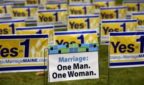 Image: Maine voters will decide gay marriage