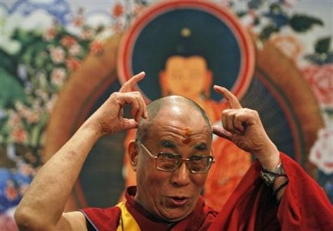 Image: India Dalai Lama