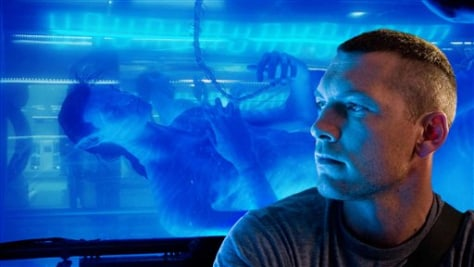 "Image: Sam Worthington in ""Avatar"""