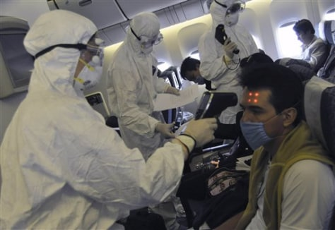 China Swine Flu Tough Measures