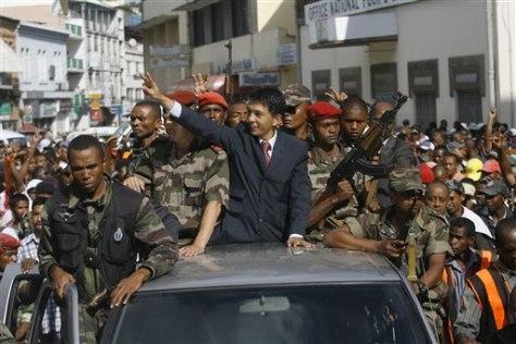 Image: Andry Rajoelina