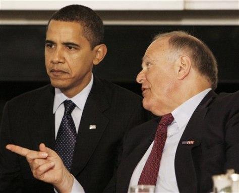 Image: Obama, Rendell