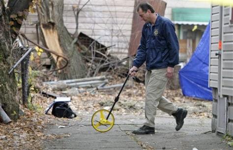 Image: Outside Cleveland killing scene