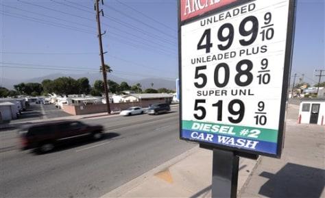 Image: $5 gas