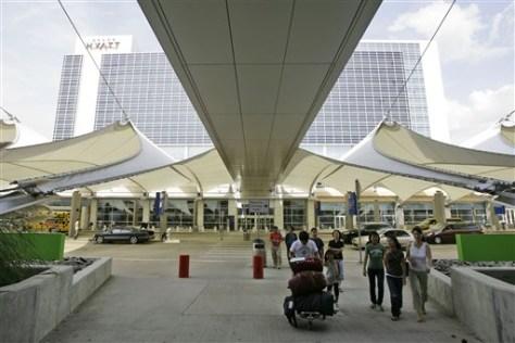 Image: DFW terminal