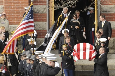 Image: Casket of soldier