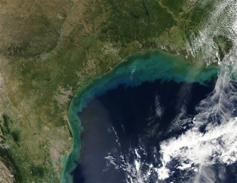 Image: Sediment in Gulf