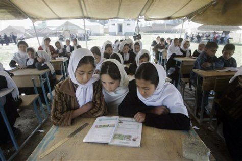 Image: Afghan school girls