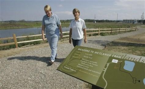 Fernald Legacy Nuclear Wildlife Preserve