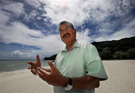 Image: Palau President Johnson Toribiong