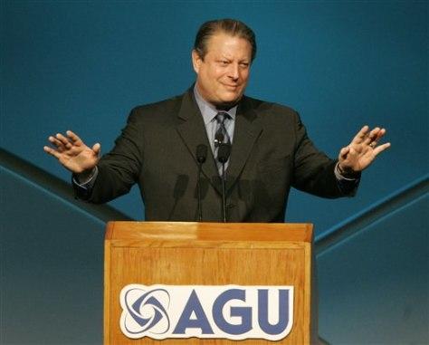 Image: Al Gore at AGU