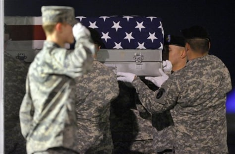 Image: Remains of Sgt. 1st Class Barry E. Jarvis