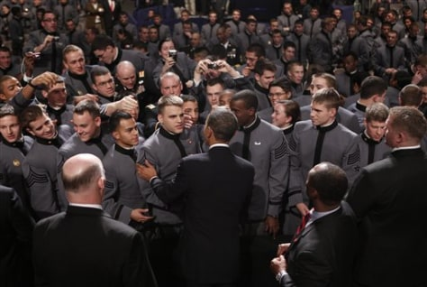 Image: President Obama at West Point