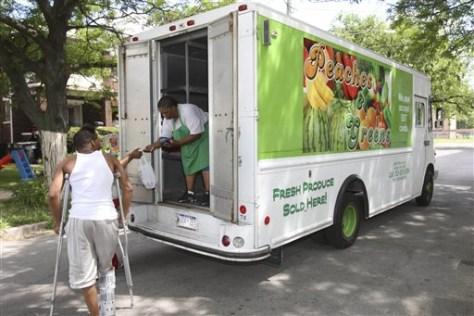 Image: Detroit produce truck