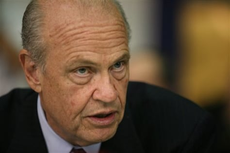 IMAGE: Former Sen. Fred Thompson