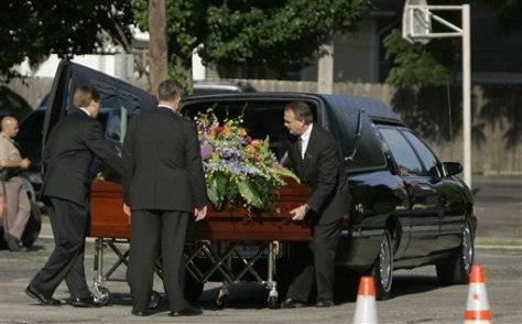 Abortion Shooting Funeral