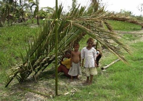 Image: Myanmar cyclone survivors