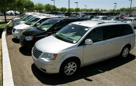 Image: Minivans for sale