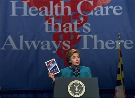 Hillary Rodham Clinton Democrats Health Care