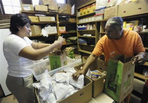 Peanut Recalls Food Banks