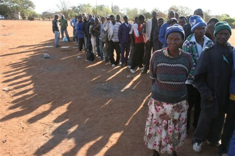 Image: Zimbabwe exodus