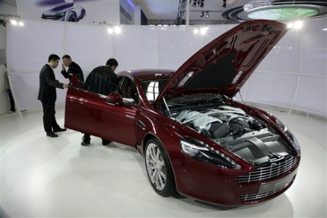 China Driving Growth Of Luxury Auto Market Business Autos Nbc News