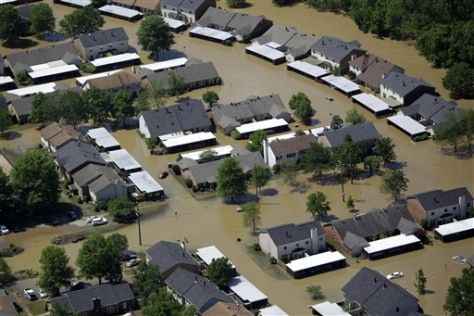 Image: Flooded Nashville area