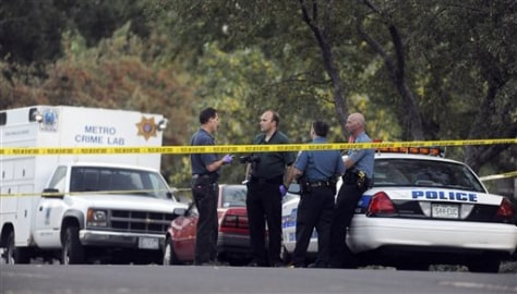 Image: Crime scene in Colorado Springs, Colo.