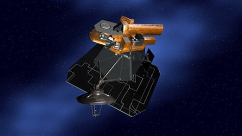 Image: Artist's conception, Deep Impact spacecraft