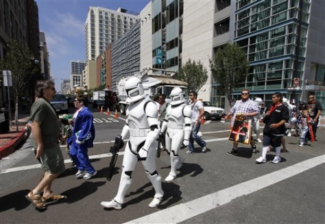 IMAGE: Stormtroopers at Comic-Con