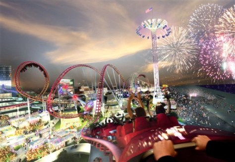 Image: Artist rendering of Coney Island