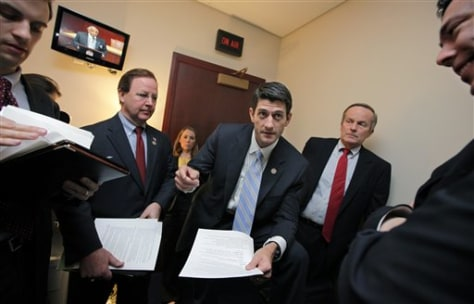 Paul Ryan, Tom McClintock, Bill Flores