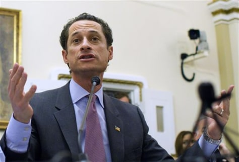 Anthony Weiner, Peter Welch