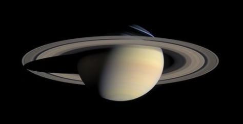 Image: Saturn and its rings