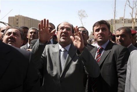 Image: Iraqi Prime Minister Nouri al-Maliki